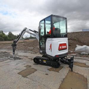 Mietmaschine Bobcat Bagger E19