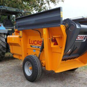 LucasG Castor G Verteilwagen und Einstreuwagen - Mischwagen