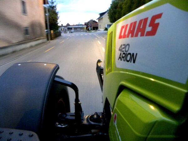Arion 420 Strassenfahrt - Service fällig?