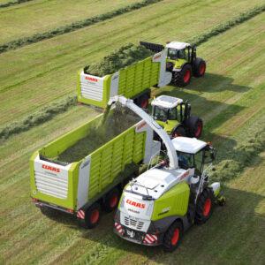 Claas Cargos Ladewagen & Häckselwagen 9500