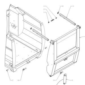 Landtechnik Ersatzteile für Futtermischwagen
