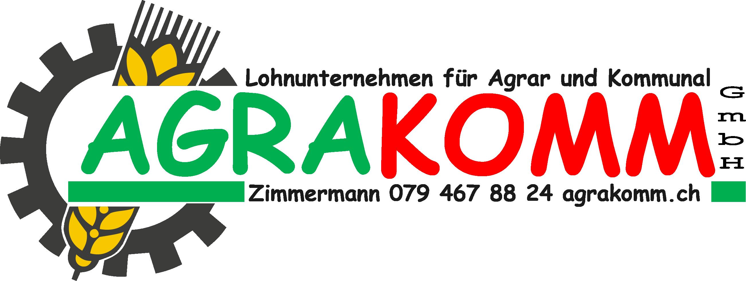 Logo AgraKomm GmbH - Partner der Landtechnik Müller