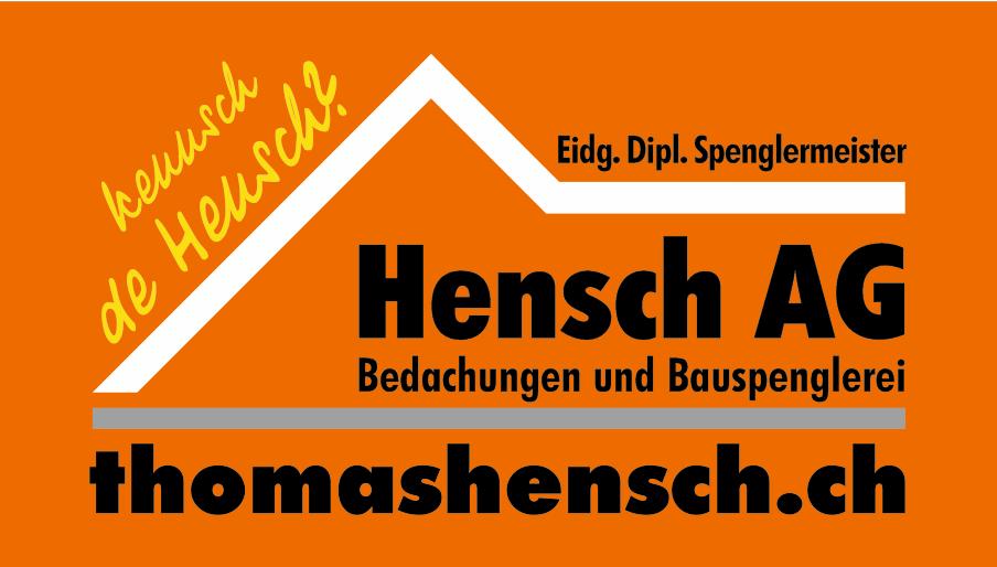 Hensch AG Bedachungen und Bauspenglerei - Partner der Landtechnik Müller aus Siblingen, Schaffhausen