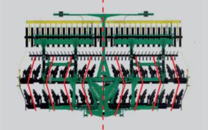 Kerner HELIX 300 Kurzscheibenegge - symmetrische Scheibenanordnung
