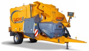 LucasG Spirmix Vertikalmischer MischwagenLucasG Spirmix Vertikalmischer Mischwagen